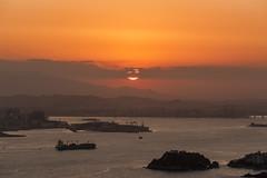 Rio de Janeiro from Niteroi (Rod.T28) Tags: riodejaneiro sunset nightphotography nightshoot canon1dsmarkiii canon70200mm28lii