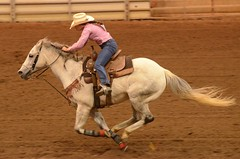Almost Flying (Get The Flick) Tags: georgiahighschoolrodeoassociation rodeo perryga georgianationalfairgroundsagricenter cowgirl horse racing gallop galloping