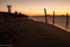 Rosolina mare (paolotrapella) Tags: rosolina mare torre panoramica tramonto sunset sea beach sabbia acqua water