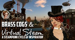 Brass-Cogs-Virtual-Steam_Babbage (The Daring Librarian) Tags: brasscogs virtual steam cogs newbabbage secondlife captred grid adalovelace steampunk
