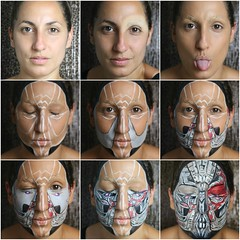 Transformers 5 - The Last Knight Inspired Makeup (Sarah Magic Makeup) Tags: transformers last knight michael bay mark wahlberg makeup makeuptutorials makeupartist makeuplooks halloween robots futurist art facepaint
