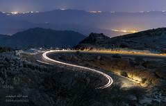 Night Scene (Abdullah M) Tags: baha albaha saudi saudiarabia shada night horizon light trials neera الباحة المخواة السعودية الشمس القمر شدا جبل نيكون nikon d5300 tamron