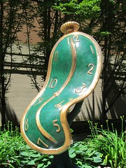Dance of Time I, too (scottfreek) Tags: salvador dali sculpture display vancouver downtown art chalirosso gallery melting timepiece scottfreek watch 150 danceoftime danceoftimei canada canada150