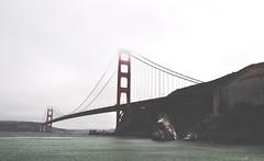 Golden Gate Bridge (ThomasGroenhuijsen) Tags: san francisco golden gate bridge nikon d90 nikkor 1685 fog