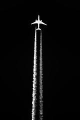 Contrails (betadecay2000) Tags: contrail contrails kondensstreifen streifen plane planes germany deutschland wolke wolken clouds himmel cloud sky flugzeug flugzeuge fliegerei münsterland nrw jet trails stripe fluggerät heaven above altitude
