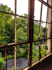Wheat mill, gingerbread castle, hamburg NJ  - #abandoned #NJ #mill #castle #summer #beautiful (MissMandiKat) Tags: summer beautiful abandoned mill castle nj