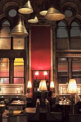 Gilbert Scott Bar, St. Pancras, London, England, UK (Plan R) Tags: cocktail bar gilbert scott pancras london uk leica m 240 noctilux 50mm