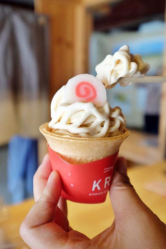 拉麵造型之醬油口味冰淇淋(3)