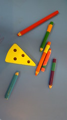 Playtime (Mamluke) Tags: americanswedishinstitute swedishinstitute mamluke museum minneapolis minnesota minneapolisminnesota wood wooden toys pencils crayons play cheese holes tabletop bois hout holz legno madera