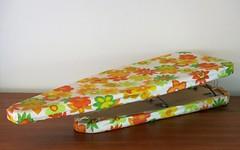 Vintage Worldsbest Industries Floral Folding Ironing Board (hmdavid) Tags: vintage thrift thriftshop worldsbest industries floral folding ironing board flowers
