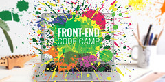 Front-End Code Camp banner