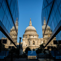 Trinity (Derek Robison) Tags: reflection architecture repetition stpauls london places uk stpaulscathedral cathedral