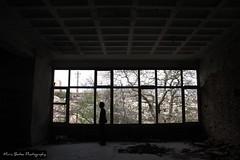 FIGURE 5 (Maria Botea) Tags: canon figure abandoned oldfactory man urbanlandscape xenia urbanlegend shadow highcontrast parnitha monochrome silhouette