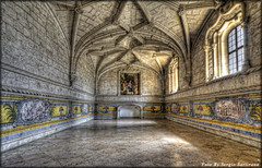Portogallo # 12      (Monastero dos Jerònimos) (celestino2011) Tags: axulejo archi luce pavimento soffitto lisbona portogallo quadro