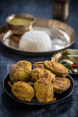 Stuffed teasel gourd (color and spices) Tags: recipe bengali teasel gourd vegetarian vegetable food foodphotography foodstyling summer