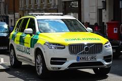KN65 URG (S11 AUN) Tags: london ambulance service las volvo xc90 4x4 responder rapid response unit paramedic rrv 999 emergency vehicle kn65urg