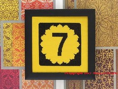 Kansas Highway Road Sign Cross Stitch Pattern (Ancora Crafts) Tags: state kansas sunflower roadsign road sign crossstitch scenic adventure byway needlepoint needlework kit highway