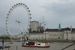 London Eye (Ryo_052) Tags: k3ii london londoneye bigwheel thamesriver river countyhall