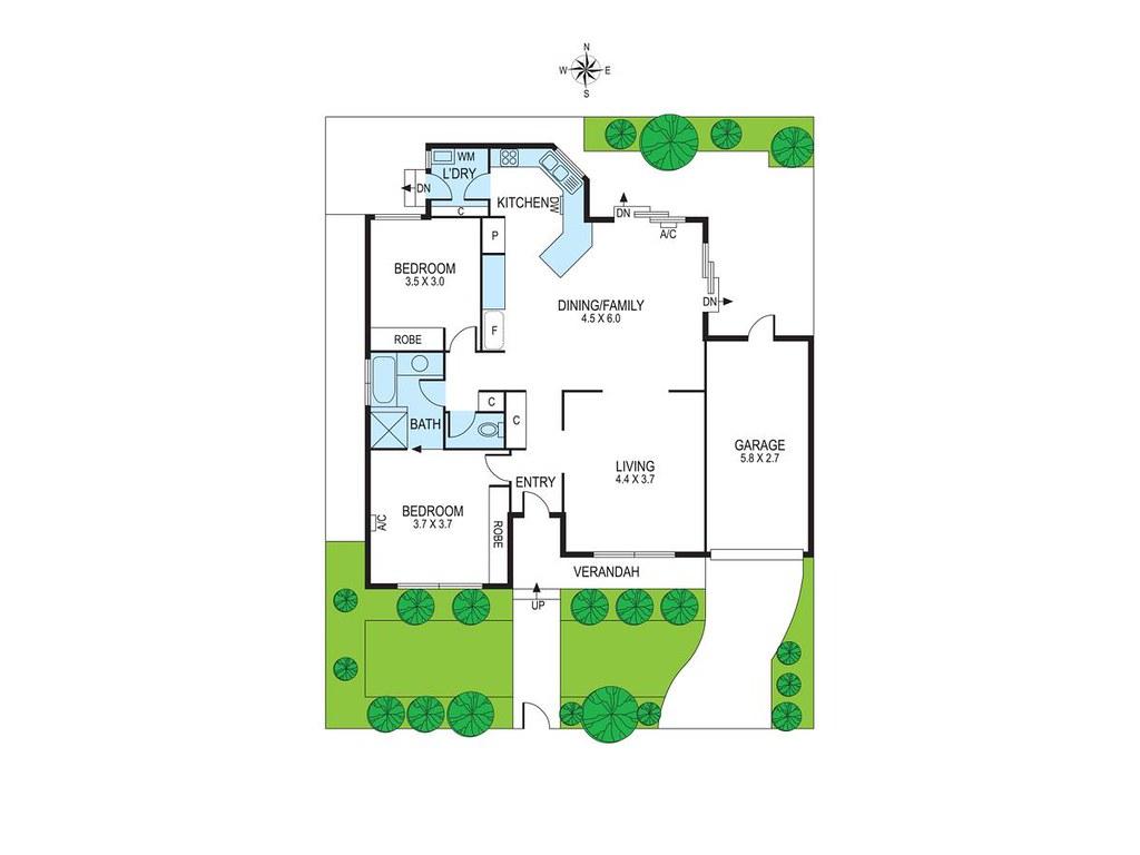 1A Benina Street floorplan