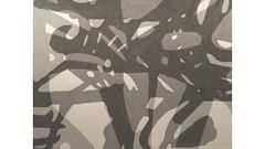 2016.03.24 Overlay Play (Julia L. Kay) Tags: shadow shadows silhouette juliakay julialkay julia kay artist artista artiste künstler art kunst peinture dessin arte woman female sanfrancisco san francisco daily everyday 365 botanical botany plant foliage splitleaf philodendron splitleafphilodendron sundances ink brushpen paper black white blackandwhite monochrome