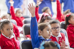 Realiza IEEPO actividades lúdicas con alumnos y padres de familia de educación preescolar