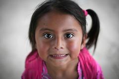Portrait of Girl in Pink (mayanfamilies) Tags: guatemala mayanfamilies tierralinda vitaminangels children distribution malnutrition vitamins wellness fundaciónfamiliamaya mayan families charity donate canon eos 5d