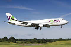 EC-KSM Wamos Air Boeing 747-412 (buchroeder.paul) Tags: bhx egbb birmingham airport europe champion league final ecksm wamos air boeing 747412