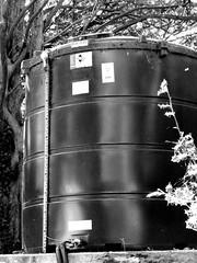 Bloater (Gram Joel Davies (see ablums)) Tags: technology blackandwhite industrial manufactured dark tank structure contrast light mandmade bw