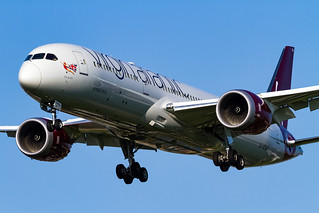 Virgin Atlantic Boeing 787-9 Dreamliner (G-VFAN)