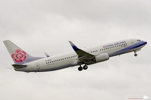 Boeing 737-8MA(WL) | B-18655 | KHH