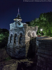 Belvedere Castle (20170603-DSC03441-Edit) (Michael.Lee.Pics.NYC) Tags: newyork centralpark belvederecastle night turtlepond delacortetheater sony a7rm2 zeissloxia21mmf28