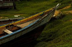 LA PROA - THE PROW (alfonsomejiacampos. PLEASE READ MY PROFILE) Tags: barca historia puestadesol puertodevaldez porlamar venezuela