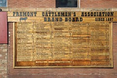 canon city 3 (david eastley) Tags: canoncity colorado usa america american information board cattlebrands fremontcattlemensassociation signs owners