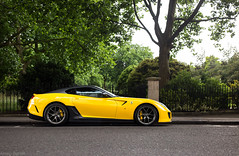 Yellow GTO (Aimery Dutheil photography) Tags: ferrari ferrari599 ferrari599gto gto 599 599gto omologato v12 giallo italian london londoncars londonsupercars supercar exotic fast speed amazing canon 6d