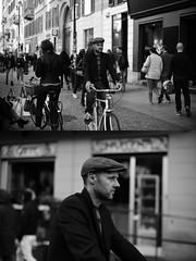 [La Mia Città][Pedala] (Urca) Tags: milano italia 2017 bicicletta pedalare ciclista ritrattostradale portrait dittico bike bycicle nikondigitale scéta biancoenero blackandwhite bn bw 10222