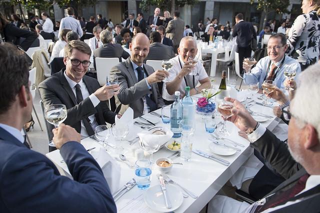 Attendees enjoying the Gala Dinner
