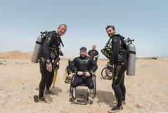 19 17a (KnyazevDA) Tags: diver disability disabled diving undersea padi paraplegia paraplegic amputee egypt handicapped wheelchair aowd sea travel scuba underwater redsea