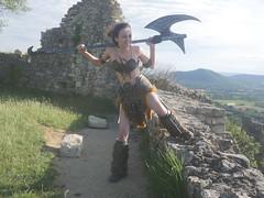 Shooting Skyrim - Ruines d'Allan -2017-06-03- P2090689 (styeb) Tags: shoot shooting skyrim allan ruine village drome montelimar 2017 juin 06 cosplay