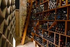 Wine Cellar at Restaurant ABaC (Premshree Pillai) Tags: tastingmenu dinnerforone restaurant dinner barcelona spain barcelonafeb17