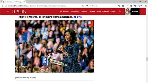 Michelle Obama Claudia
