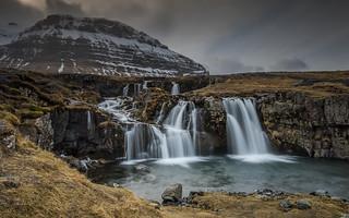 The other side of Kirkjufellsfoss