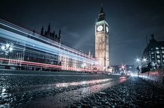 Five to Ten (ScottSimPhotography) Tags: night nightscape city cityscape london westminster lights lighttrails traffic perspective low england uk britain londonist visitbritain travel
