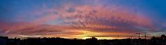 Sunrise (rudi.verschoren) Tags: belgium flanders panorama firesky ipad landscape outdoor sunrise