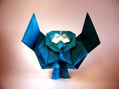 Owl - Katsuhisa Yamada (Rui.Roda) Tags: origami papiroflexia papierfalten buho mocho coruja hibou chouette eule owl katsuhisa yamada