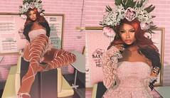 Peony (Aiko Lee) Tags: lode itgirls addams empire astralia little bones secondlife selfie people portrait princess pink
