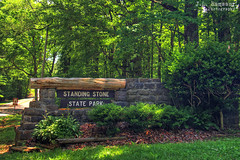 Standing Stone State Park sign - Hilham, Tennessee (J.L. Ramsaur Photography) Tags: jlrphotography nikond7200 nikon d7200 photography photo hilhamtn middletennessee overtoncounty tennessee 2017 engineerswithcameras cumberlandplateau photographyforgod thesouth southernphotography screamofthephotographer ibeauty jlramsaurphotography photograph pic hilham tennesseephotographer hilhamtennessee tennesseehdr hdr worldhdr hdraddicted bracketed photomatix hdrphotomatix hdrvillage hdrworlds hdrimaging hdrrighthererightnow sign signage it'sasign signssigns iseeasign signcity rural ruralamerica ruraltennessee ruralview smalltownamerica americana standingstonestatepark statepark tennesseestatepark standingstone established1939 standingstonepark park tennesseestateparks tennesseedepartmentofenvironmentconservation tdec trees bushes stonesign standingstonestateforest nationalrolleyholemarbletournament rolleyholemarbletournament