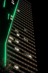 A place to stay (Roving I) Tags: facades design architecture hotels towers nightlife lighting tourism travel danang vietnam vertical