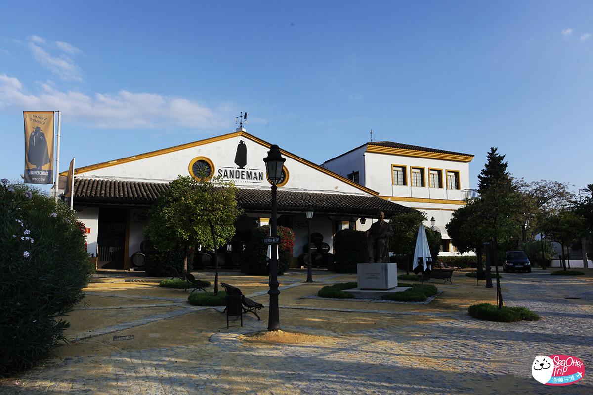 [西班牙赫雷斯]在安達盧西亞的Bodegas Terry品嚐甜膩雪莉酒sherry