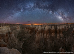 Arc Over the Canyon (David Swindler (ActionPhotoTours.com)) Tags: night milkyway panoramic desert canyon stars arc nightscape arizona pano southwest