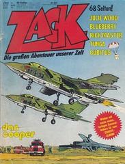 ZACK / 1977 Nr. 17 (micky the pixel) Tags: comics comic heft koralleverlag zack albertweinberg dancooper pilot militär jet düsenjäger lockheedf104 starfighter